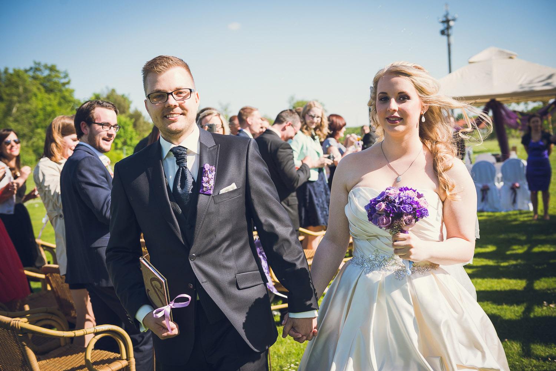 Brautpaar heiraten